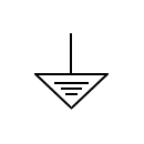Protection anode symbol