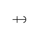 Antiskid the cable symbol