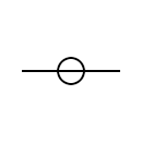 Overhead power line symbol